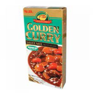 S&B 3.5 OZ GOLD CURRY MED-HOT 6/12