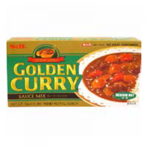 JM S&B GOLD CURRY MED-HOT 6/10
