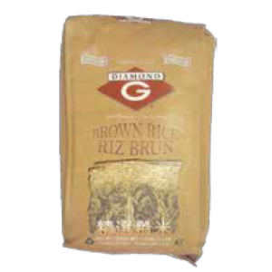 "BROWN RICE DIAMOND ""G"""