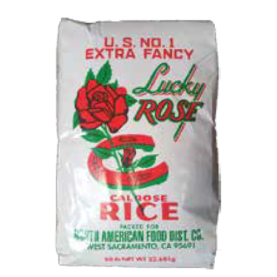 PAPER LUCKY ROSE #50 RICE MED GRAIN