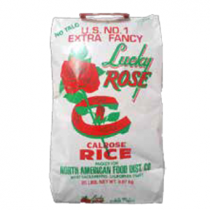 LUCKY ROSE 20 LB RICE MED GRAIN