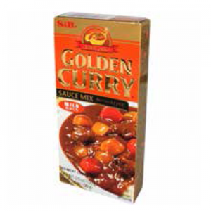 S&B 3.5 OZ GOLD CURRY MILD 6/12