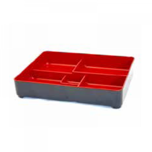 MAIKO BENTO BOX INNER TRAY RED