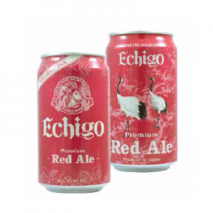 "ECHIGO ""CAN""PREMIUM RED ALE"