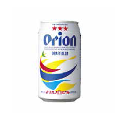 """CAN"" ORION BEER"