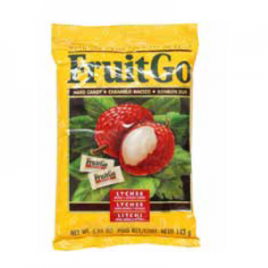 FRUIT GO LYCHEE CANDY