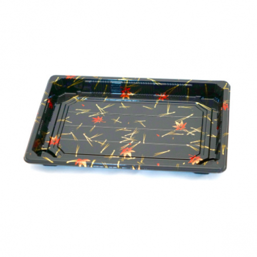 SUSHI TRAY WITH LID 8PK/ 50 SET