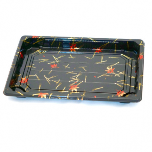 SUSHI TRAY WITH LID 4 PK/ 50 SET