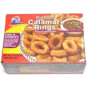 BREADED CALAMARI RINGS