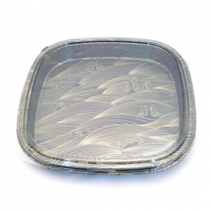 PARTY TRAY WITH LID 4PK/ 25 SET
